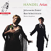 Handel: Arias - Love and Madness [SACD] / Johannette Zomer, Bart Schneemann, Musica Amphion