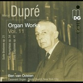 Dupre: Organ Works, Vol. 11