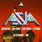 Asia (Rock): Live In Moscow 1990