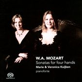 W.A. Mozart: Sonatas for Four Hands / Kuijken Duo