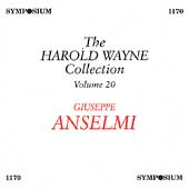 The Harold Wayne Collection Vol 20 - Giuseppe Anselmi