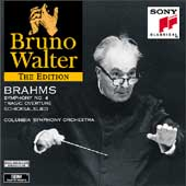 Bruno Walter Edition - Brahms Symphony no 4, etc