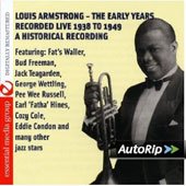Louis Armstrong: His Early Years