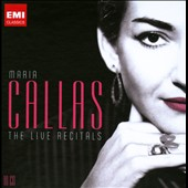 Maria Callas: The Live Recitals [10 CDs]