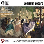 Benjamin Godard: Piano Concerto No. 2; Fantaisie Persane; Jocelyn Suites Nos. 1 & 2; Ouverture de Guelfes / Victor Sangiorgio, piano