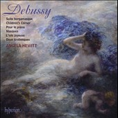 Debussy: Suite bergamasque; Children's Corner; Pour le piano; Masques; L'isle joyeuse; Deux Arabesques / Angela Hewitt, piano