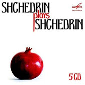 Shchedrin plays Shchedrin: 24 Preludes & Fugues; Plyphonic Notebook, Musical Offering / Rondion Shchedrin, piano