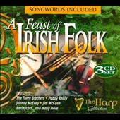 Various Artists: A Feast of Irish Folk [Harp] [Box]