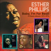 Esther Phillips: Baby, I'm for Real: 4 Classic Albums 1971-1974 [3/17] *