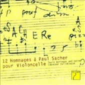 12 Hommages to Paul Sacher by Britten, Halffter, Henze, Huber, Berio, Boulez, Ginastera et al. / David Geringas, cello