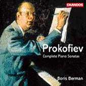 Prokofiev: Complete Piano Sonatas / Boris Berman