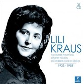 Lili Kraus, Piano: The Complete Parlophone, Ducretet-Thomson & Discophiles Francais Recordings, 1933-1958 [31 CDs]