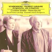 Schoenberg: Pierrot Lunaire, etc / Boulez, Sch&#228;fer, et al