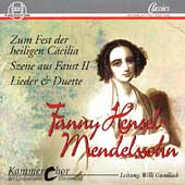 Hensel-Mendelssohn: Vocal Works / Gundlach, Dortmund Choir
