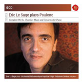 Eric Le Sage plays Poulenc solo piano pieces and chamber works / Eric Le Sage, piano; various artists [6 CDs]