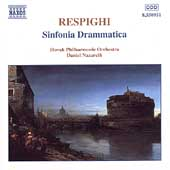 Respighi: Sinfonia Drammatica /Nazareth, Slovak Philharmonic