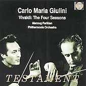 Vivaldi: The Four Seasons / Parikian, Giulini, Philharmonia