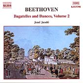 Beethoven: Bagatelles and Dances Vol 2 / Jenó Jandö