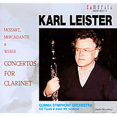 Mozart, Mercadante, Weber: Concertos for Clarinet / Karl Leister, clarinet
