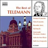 The Best of Telemann - Concertos, Suites, etc