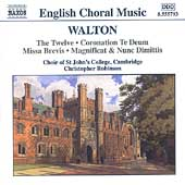 English Choral Music - Walton / Robinson, St. John's College