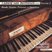 Beethoven Vol 2 - Rondo, Sonates, etc / Trudelies Leonhardt