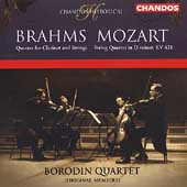 Historical - Brahms, Mozart / Borodin String Quartet