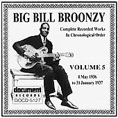 Big Bill Broonzy: Complete Recorded Works, Vol. 5 (1936-1937)