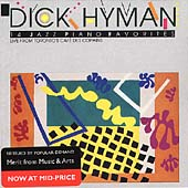 Dick Hyman: 14 Jazz Piano Favorites: Live from Toronto's Cafe des Copains