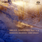 Sibelius: Symphonies Nos. 1 & 4 / Osmo Vanska, Minnesota Orch.