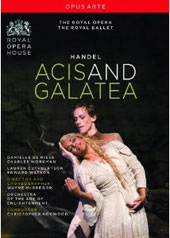 Handel: Acis and Galatea / de Niese, Workman, ROH, Hogwood [DVD]