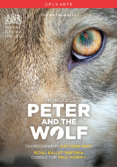 Prokofiev: Peter and the Wolf / Murphy, Royal Ballet Sinfonia [DVD]