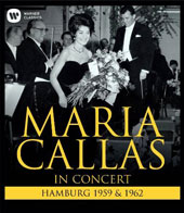 Maria Callas - in Concert: Hamburg 1959 & 1962 / Georges Prêtre, Nicola Rescigno. North German Radio SO / Maria Callas, soprano [Blu-ray]