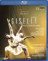 Elegance, The Art of Mats Ek - Giselle, music by Adolphe Adam; Choreography and TV adaptation by Mats Ek / Cullberg Ballet [Blu-ray]