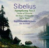 Sibelius: Symphony no 5, etc / Schmidt, Mackerras, Royal PO