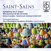 Saint-Saens: Organ Symphony / Fr&#233;maux