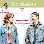 Mozart: Complete Sonatas for Keyboard and Violin Vol 4