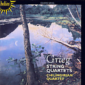 Grieg: String Quartets / Chilingirian Quartet