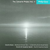 Philip Glass: The Concerto Project Vol 3 / Dennis Russell Davies, et al