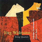 Widmann: String Quartet no 1 - 5 / Leipzig String Quartet, Juliane Banse