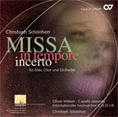 Christoph Schönherr: Missa in Tempore Incerto