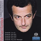 Beetoven: Piano Sonatas, Vol. 5 [SACD]