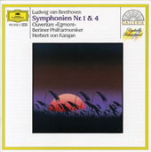 Beethoven: Symphonies 1 & 4; Egmont Overture