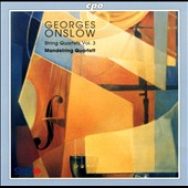 Onslow: String Quartets Vol. 3