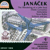 Jan&#225;cek: Sinfonietta; Taras Bulba; Violin Concerto