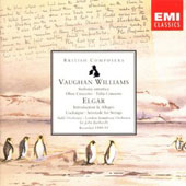 Vaughan Williams: Sinfonia antartica; Oboe Concerto; Elgar: Introduction & Allegro; Cockaigne