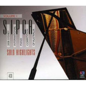 2008 Sydney International Piano Competition of Australia, Vol. 1: Solo Highlights
