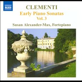 Muzio Clementi: Early Piano Sonatas, Vol. 3