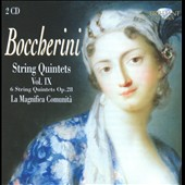 Boccherini: String Quintets, Vol. 9