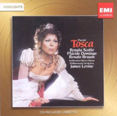 Puccini: Tosca [Highlights] / Scotto, Domingo, Bruson